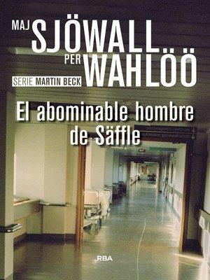 cover image of El abominable hombre de Säffle