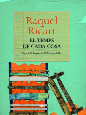 cover image of El temps de cada cosa