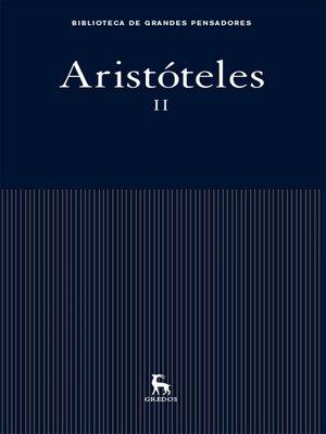 cover image of Aristóteles II