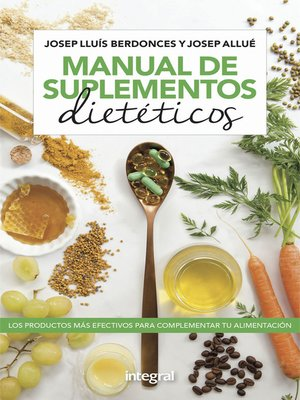 cover image of Manual de suplementos dietéticos