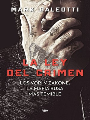cover image of La ley del crimen