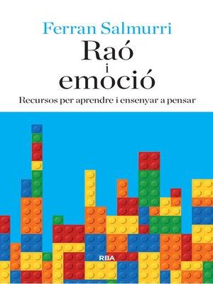cover image of Raó i emoció