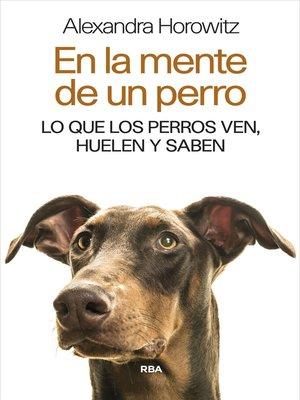 cover image of En la mente de un perro