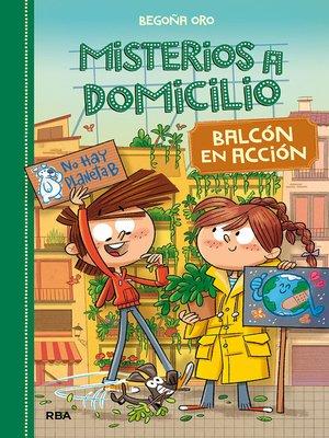 cover image of Misterios a domicilio #8. Balcón en acción