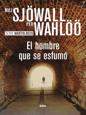 cover image of El hombre que se esfumó