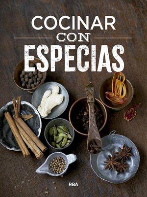cover image of Cocinar con especias