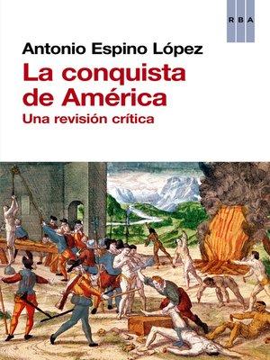 cover image of La conquista de América
