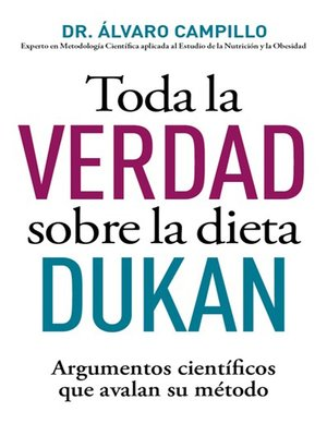 cover image of Toda la verdad sobre la dieta Dukan