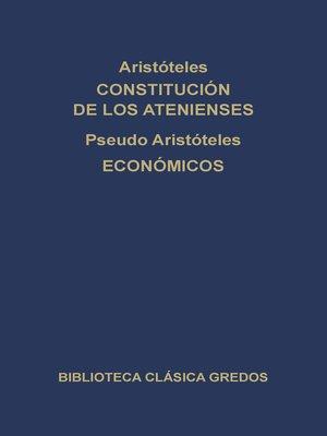 cover image of Constitución de los Atenienses. Económicos.