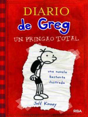 cover image of Diario de Greg 1. Un pringao total