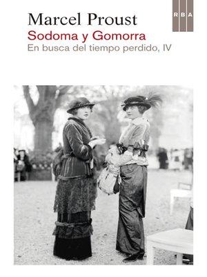 cover image of Sodoma y Gomorra. En busca del tiempo perdido IV