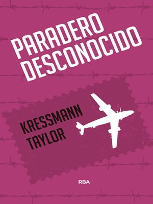 cover image of Paradero desconocido