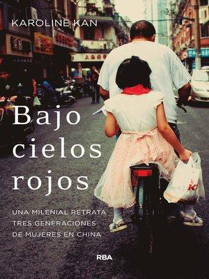 cover image of Bajo cielos rojos