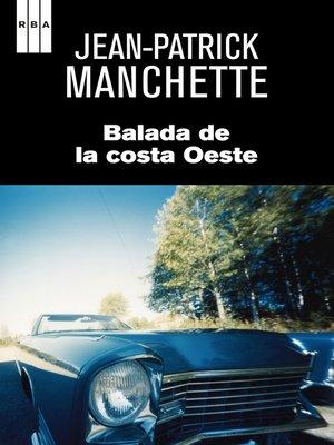 cover image of Balada de la costa Oeste