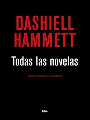 cover image of Todas las novelas