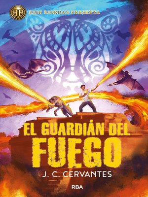 cover image of El guardián del fuego