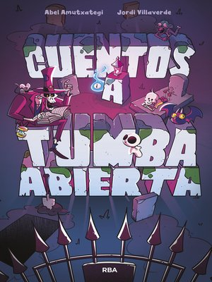 cover image of Cuentos a tumba abierta