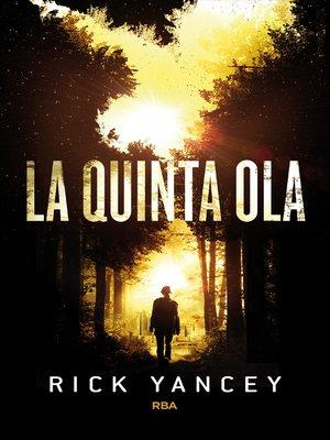 cover image of La quinta ola