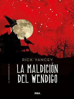 cover image of La maldición del Wendigo