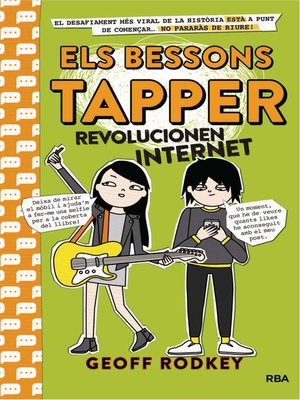 cover image of Els bessons Tapper revolucionen internet