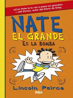 cover image of Nate el Grande#8. Es la bomba