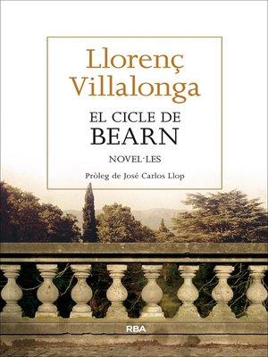 cover image of El cicle de Bearn