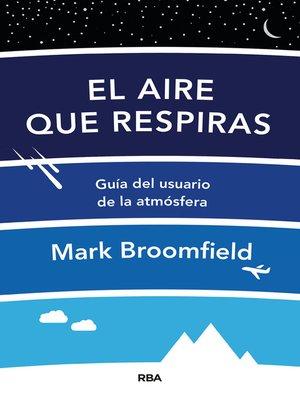 cover image of El aire que respiras