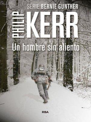 cover image of Un hombre sin aliento