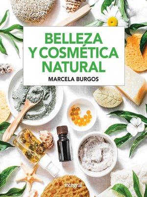 cover image of Belleza y cosmética natural