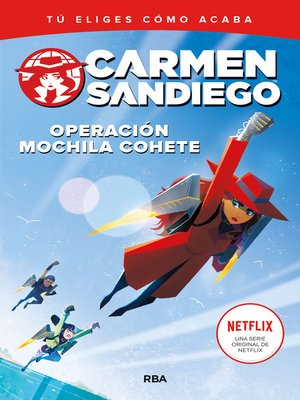 cover image of Operación mochila cohete