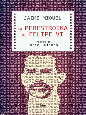 cover image of La perestroika de Felipe VI