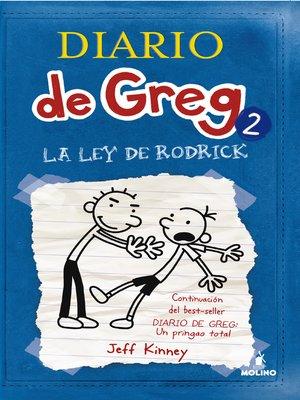 cover image of Diario de Greg 2. La ley de Rodrick