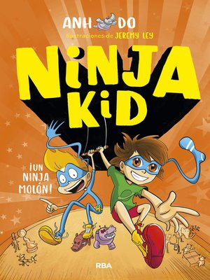 cover image of Ninja Kid#4. !Un ninja molón!