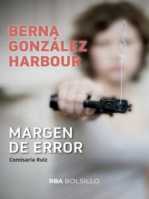 cover image of Margen de error