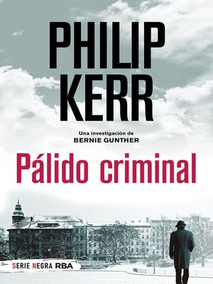cover image of Pálido criminal