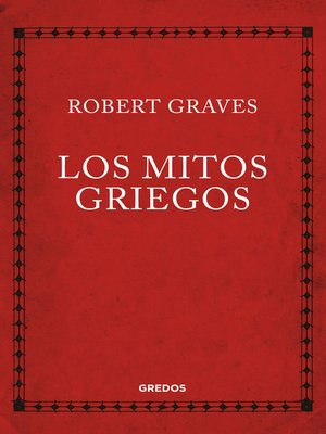 cover image of Los mitos griegos