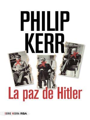 cover image of La paz de Hitler