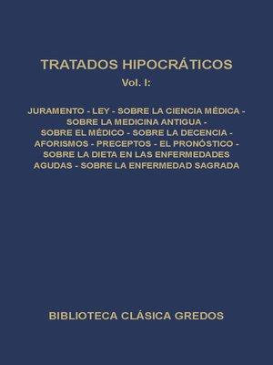 cover image of Tratados hipocráticos I