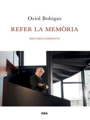cover image of Refer la memòria
