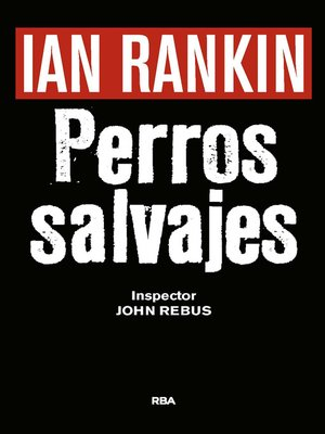 cover image of Perros salvajes