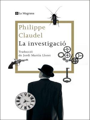 cover image of La investigació