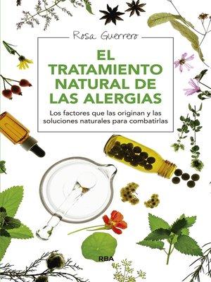 cover image of El tratamiento natural de las alergias