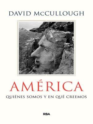 cover image of América