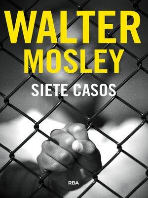 cover image of Siete casos