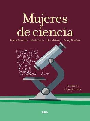 cover image of Mujeres de ciencia