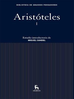cover image of Aristóteles I