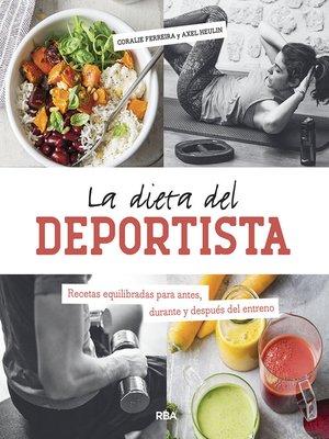 cover image of La dieta del deportista