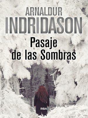cover image of Pasaje de las sombras