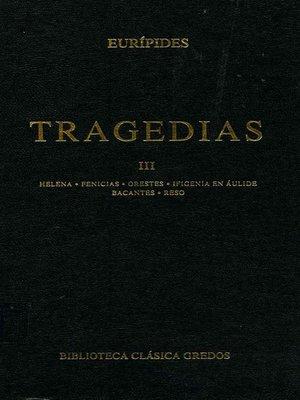 cover image of Tragedias III