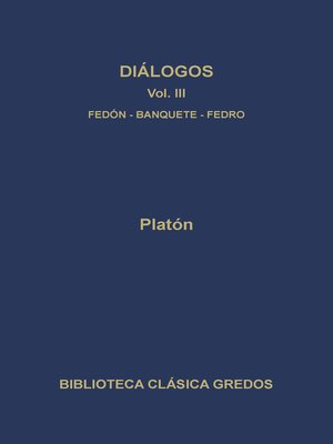 cover image of Diálogos III